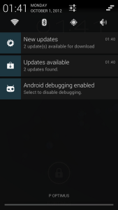 CM Updater notification