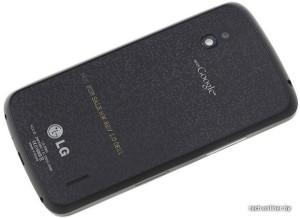 LG Optimus Nexus back