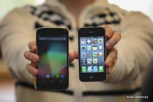 LG Optimus Nexus comparison